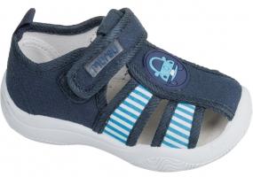 Туфли открытые ясельные для мальчика