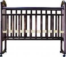 кровать алита 2 (колесо-качалка, цвет: венге)