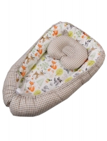 кровать промтекс (колесо-качалка, автостенка, цвет: венге)