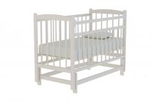 Кровать Колибри КД 1200 МП (маятник, цвет слоновая кость)