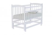 Кровать Колибри КД 1200 МП (маятник, цвет белый)