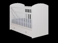 Кровать Колибри Классик-5 с ящиком (поперечный маятник, цвет белый)