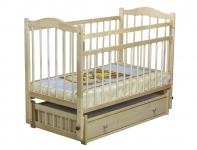 Кровать Колибри-6 (маятник, ящик), цвет натуральный