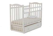 Кровать Колибри-6 (маятник, ящик), цвет белый
