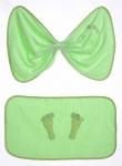 Комплект полотенец для новорожденного