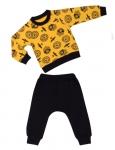 Комплект для мальчика, свитшот+штаны