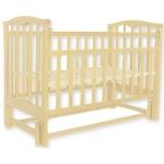 Кровать Колибри-мини МП (маятник продольный, цвет слоновая кость)