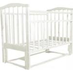 Кровать Колибри-мини МП (маятник продольный, цвет белый)