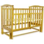 Кровать Колибри-мини МП (маятник продольный, цвет натуральный)