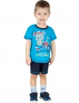 Комплект для мальчика, шорты+футболка